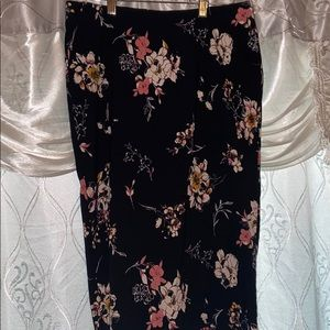 🌸EUC JULES & LEOPOLD floral print skirt